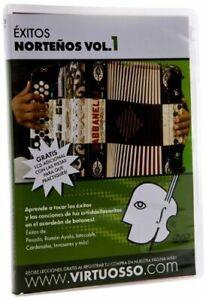Virtuosso Exitos Norteños en el Accordion de Botones DVD & CD Vol.1
