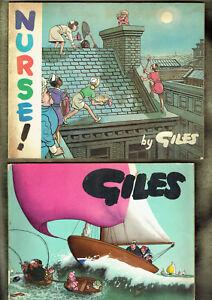 Qq 7 Four Giles Comic Cartoon Books Wear Ebay