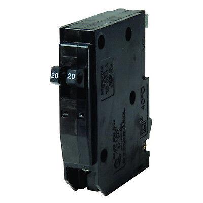 QO2020 Square D Tandem Circuit Breaker 2-20 Amp 1 Pole 120V NEW!!!