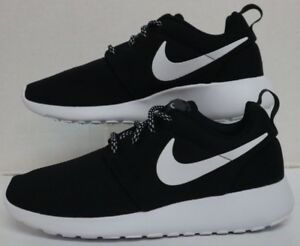 641557a089873 Image is loading WMNS-Nike-Roshe-ONE-Black-White-Dark-Grey-