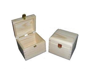 Bolsa de té caja con cierre de suministros Hecho a Mano Caja Pequeña De Madera Artesanal Decoupage  </span>