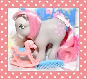 ❤️My Little Pony G1 Vtg 1982 Collector Ponies CF Snuzzle & Original Blue Comb❤️