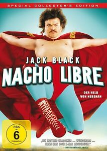 JACK-BLACK-NACHO-LIBRE-DVD-NEU-HESS-JARED