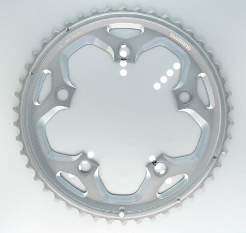 Shimano FC-RS500 46T-MJ Chainring fits 46-36T Crank 2x11 speed 110mm BCD Silver