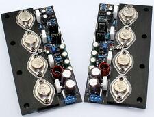20W NO feedback Full DC Pure Class A amp board (2 channel )