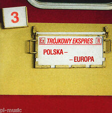 = TROJKOWY EKSPRES: POLSKA-EUROPA // CD sealed Trojka Poleca