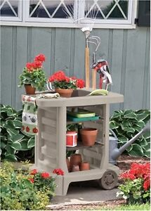 Outdoor Gardening Cart Table Cleaning Camping Grill