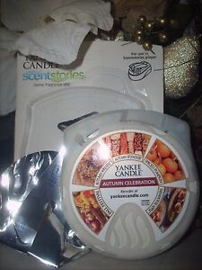 1 USED AUTUMN CELEBRATION Yankee Candle Scentstories Disc fits Febreze