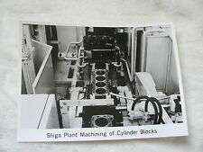 M0002) Mitsubishi - Machining of Cylinder Blocks - Presse-Foto Werk-Foto 06/1984