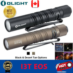 Olight-LED-Flashlight-Rechargeable-I3T-EOS-Black-DT-Camping-Handheld-EDC-Light