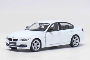 Welly-1-24-BMW-F30-335i-White-Diecast-Model-Car-Vehicle-New-in-Box