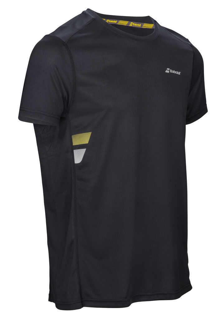 BABOLAT TEE SHIRT FLAG CLUB TEE black size M