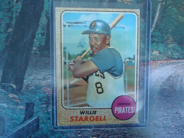 1968 TOPPS WILLIE STARGELL PITTSBURGH PIRATES #86