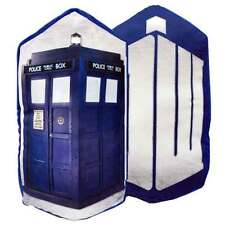 Doctor Who Reverse to TARDIS and DW Cushion or pillow 18 x 14 inch BBC