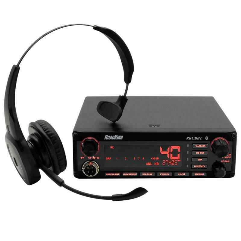 RoadKing Hands-Free, Voice Activated Trucker CB Radio with RKING940 Headset. Buy it now for 228.99