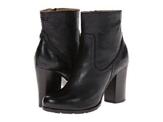 Nuevo Sin Sin Sin Caja Frye Parker Corto botas negras para mujer Talla 10 M 4cdcb4