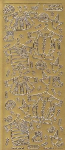 für Mädchen Schriftzüge Baby Bekleidung Sticker Gold oder Silber