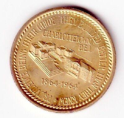 # 6721c Charlottetown, P.e.i., Canada Medal, 100th Anniversary Of Canada