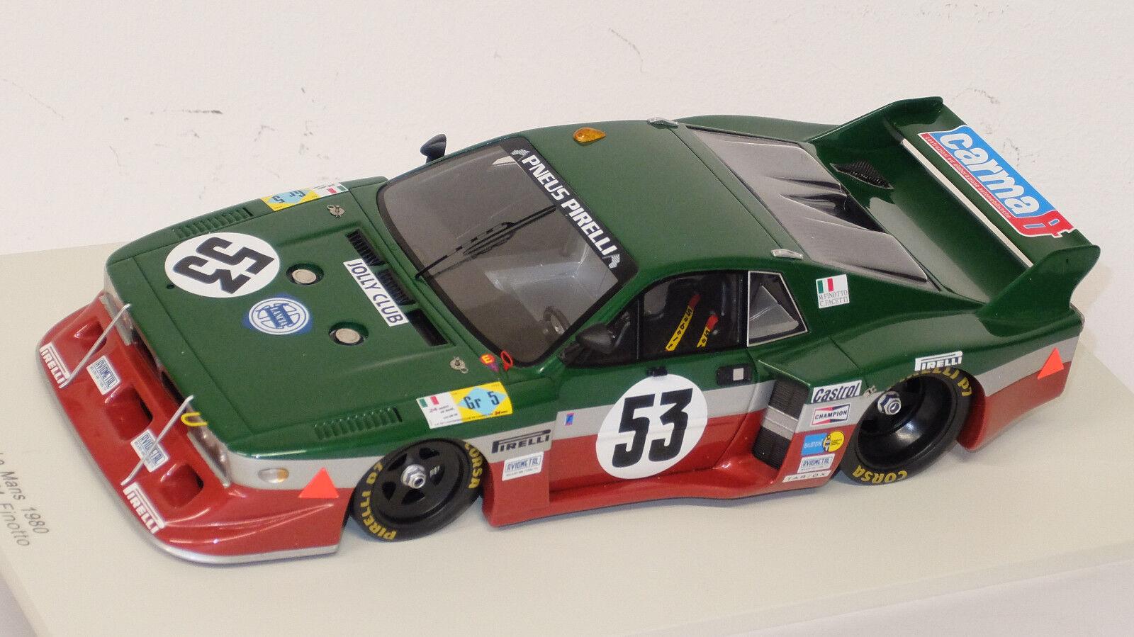 Lancia Beta, LANCIA Corse  Jolly Club, Le Mans 1980  Spark 1 18