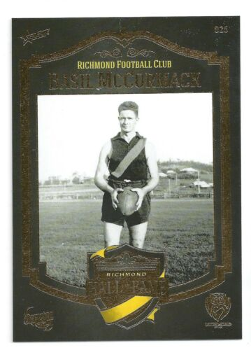 Richmond Hall of Fame 025 Basil McCORMACK