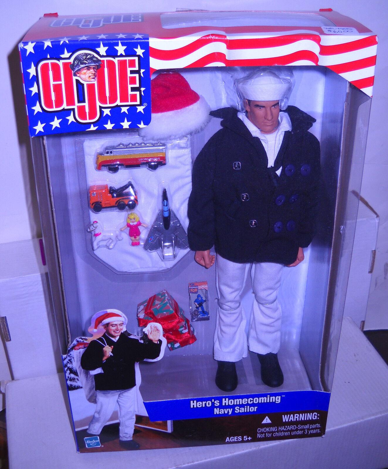 NRFB Hasbro GI Joe Hero's Homecoming Navy Sailor