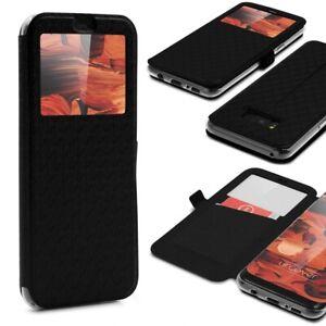 Samsung-Galaxy-s8-fenetre-WALLET-HOUSSE-DE-PROTECTION-VIEW-COVER-Flip-Case-etui