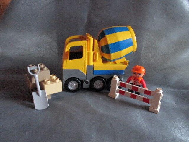 Lego Duplo LKW 4976 Ville Betonmischer Baustellenfahrzeug Cement Mixer Baustelle