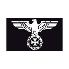 Fahne Flagge Deutsches Reich - Reichsadler mit eisernem Kreuz 90 x 150cm (DR-17)