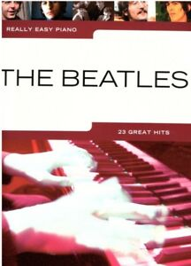 Klavier-Noten-THE-BEATLES-Really-Easy-Piano-23-Great-Hits-leicht