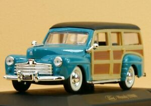FORD Woody - 1948 - seagreen - YATMING 1:43