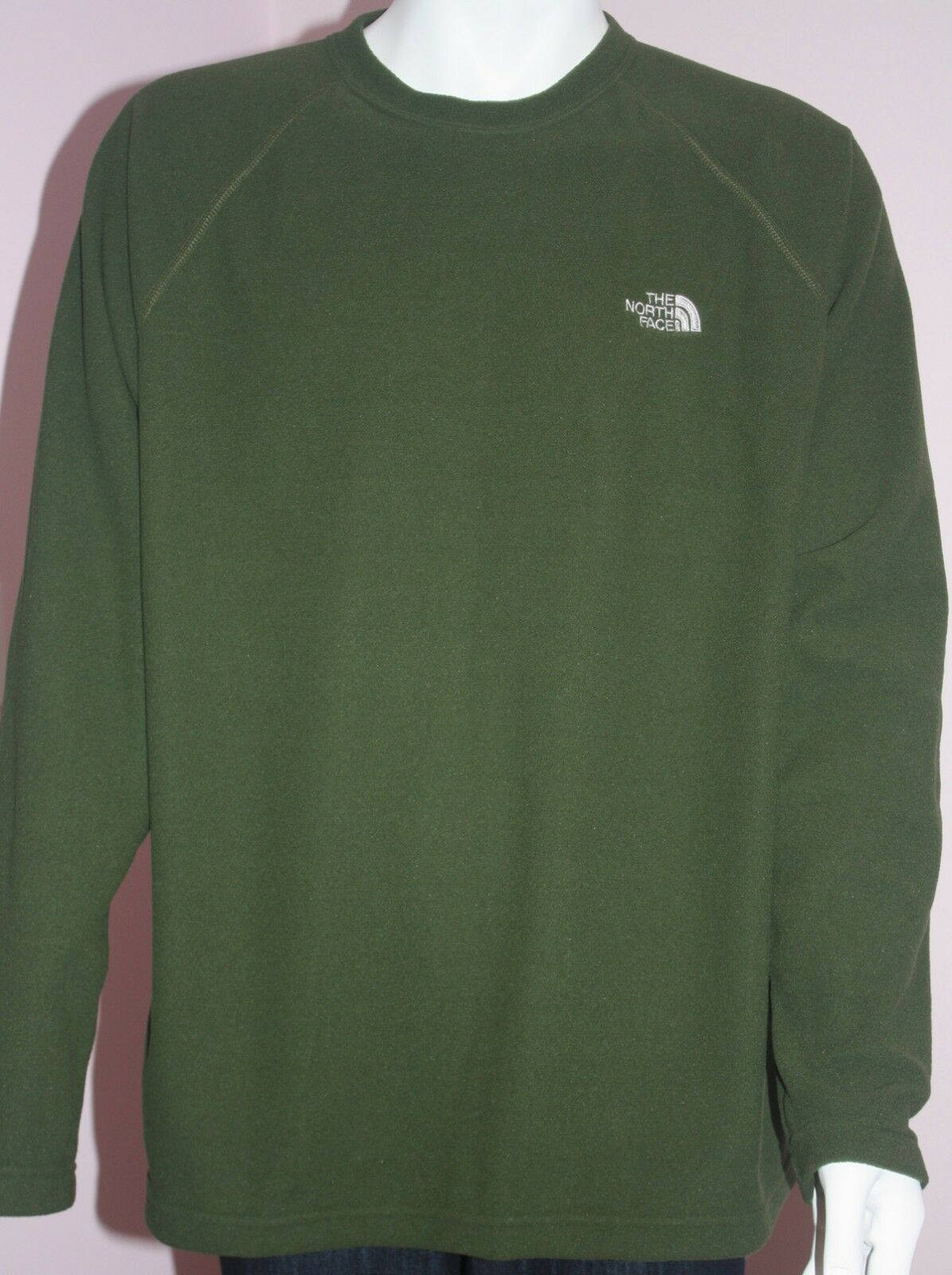 NWT  Herren THE NORTH FACE English Grün Cooper Sweater Größe XL