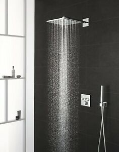 Grohtherm Smart Control Perfect Shower Set with Rainshower 310 SmartActive Cube
