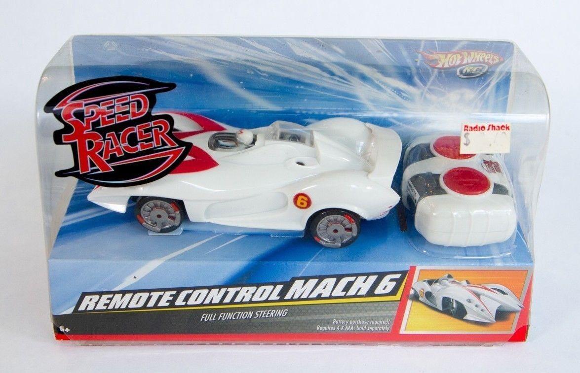 Hot Wheels Speed Racer Remote Control Mach 6 - 2008