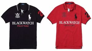 Image is loading Polo-Ralph-Lauren-Mens-Big-Pony-Logo-Slim-