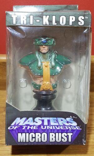 """2004 NECA Masters of the Universe 4/"""" Tri-klops Micro Busto"""