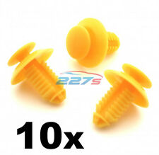 10x Door Card Sill & Kick Plate Trim Cover Clips for Rover 200 25 45 75 MG ZT ZS