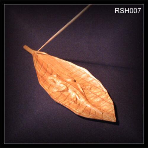 Räucherstäbchenhalter Gecko Holz Schnitzerei Yoga Feng Shui Meditation RSH007