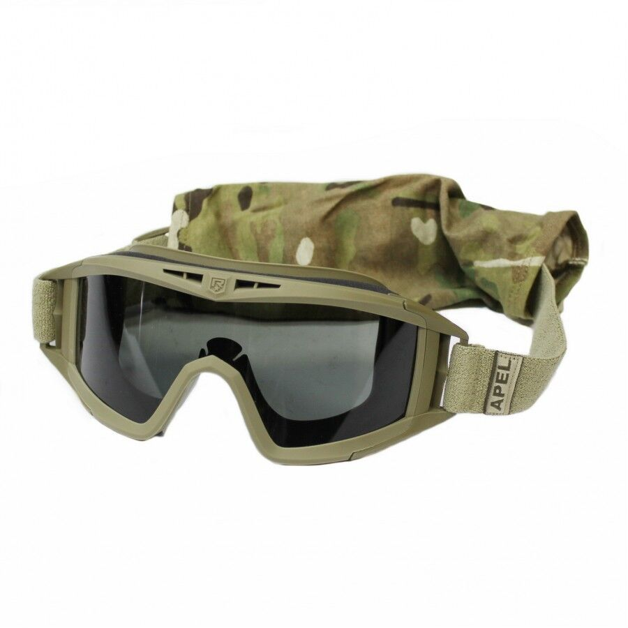 US Army Revision Multicam Tactical Locust Tactical 2 Lens Schutzbrille Brille
