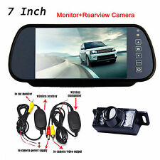 "Wireless Car Reverse Rear View Backup Camera Night Vision+7"" Digital LCD Monitor"