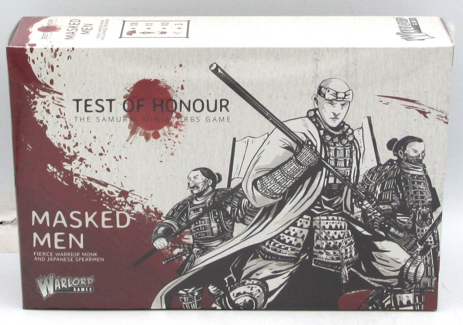 Test of Honour 762610002 Masked Men (Expansion) Warrior Monk & Spearmen Warlord