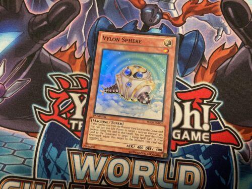 Vylon Sphere HA06-EN004 1st Super Rare NM Yugioh Card