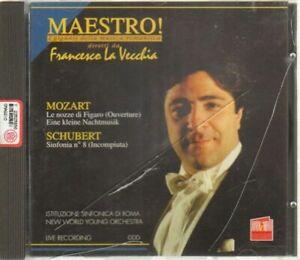 MOZART SCHUBERT diretti da Francesco La Vecchia CD Audio Musicale