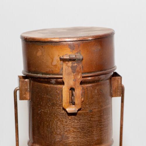 Dose Dekoration Eisen Aufbewahrungsdose für Flaschen Braun
