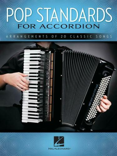 Pop Standards for Accordion Arrangements of 20 Classic Songs Accordion  Book Onl
