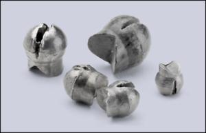 Bullet Weight Reusable Split Shots BB 60 Pack SSRBB