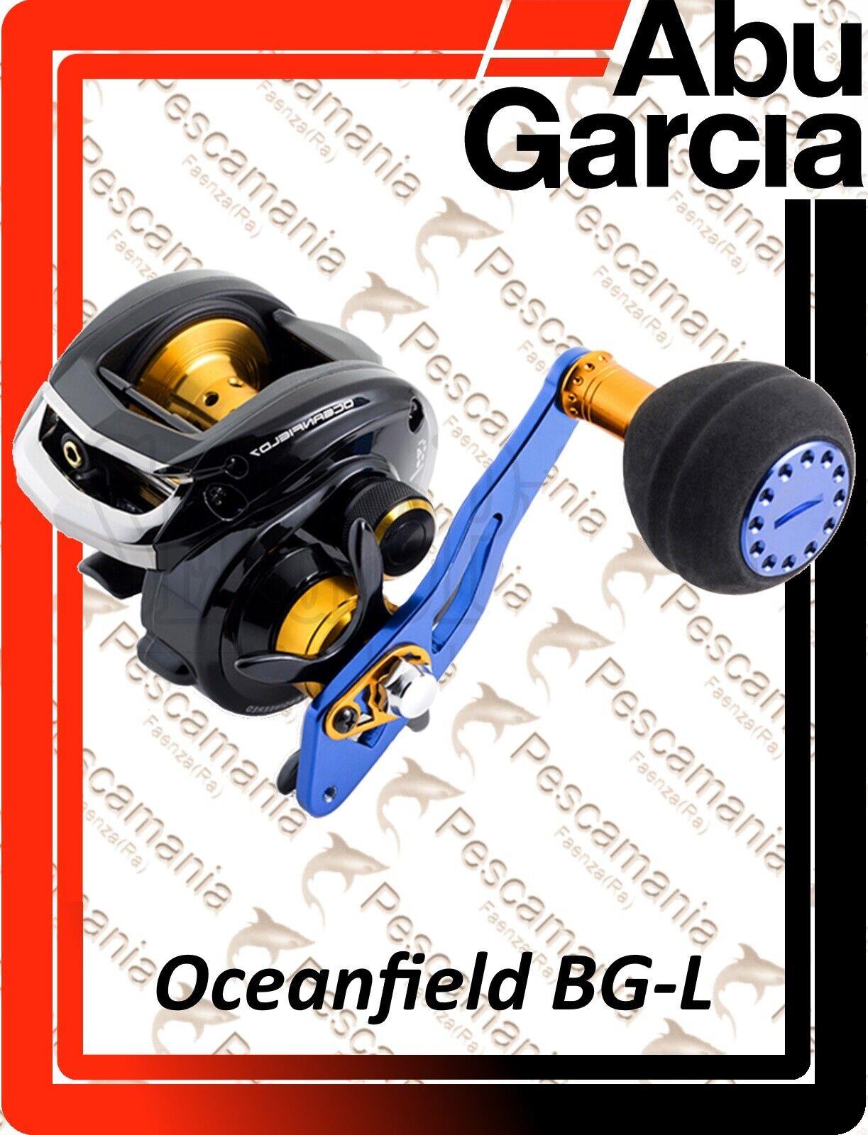 Mulinello casting Abu Garcia Oceanfield BGL Low Profile left