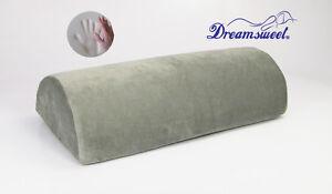 Extra Firm D Shape Memory Foam Bolster Roll Pillow By