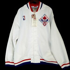 100% Authentic Mitchell   Ness 1991 NBA All Star Game Warm Up Jacket ... b7e690abc
