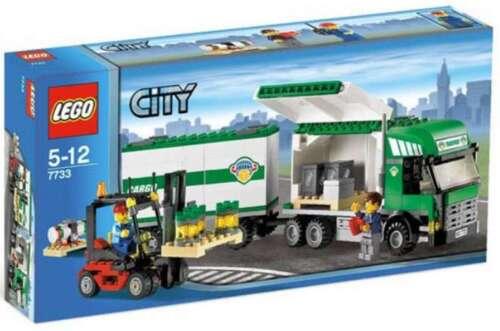 Precut Custom Replacement Stickers voor Lego Set 7733 Truck /& Forklift 2008