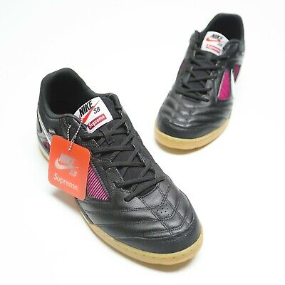 Nike SB Gato QS Supreme Size 13 Black White Teal AR9821 001 Authentic New In Box | eBay